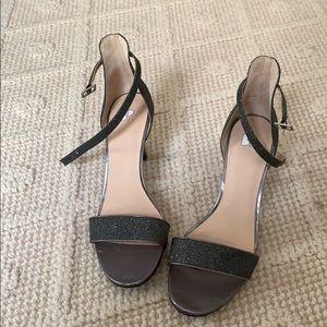 Nordstrom Brass Plum heels